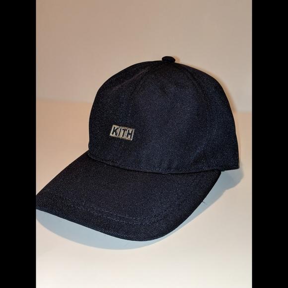 Kith Other - 🔥KITH🔥 Silver Classic Logo Navy Cap 3b33fbcba03f